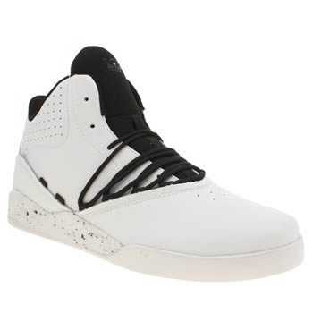 Mens Supra White Estaban Trainers