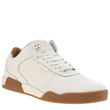 Supra White Ellington Trainers
