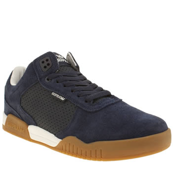 Mens Supra Navy Ellington Trainers