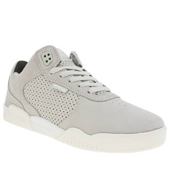 Mens Supra Light Grey Ellington Trainers