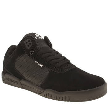 Supra Black Ellington Trainers