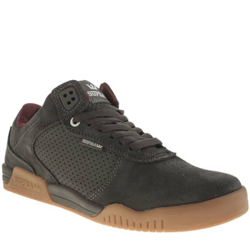 Mens Supra Grey Ellington Trainers