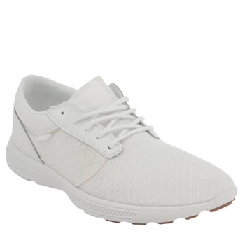 Mens Supra White Hammer Run Trainers