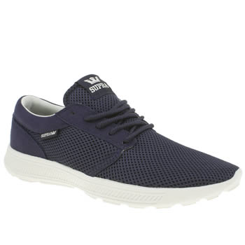 Mens Supra Navy Hammer Run Trainers