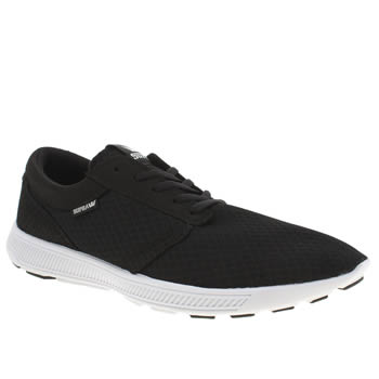 Mens Supra Black Hammer Run Trainers