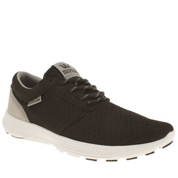 Supra Black & Grey Hammer Run Trainers