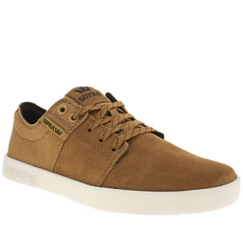 Supra Tan Stacks Trainers