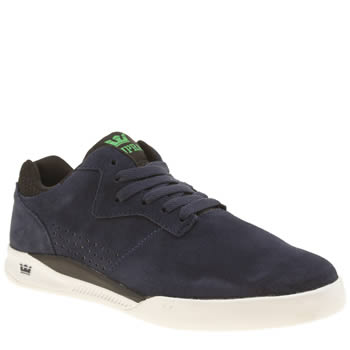Supra Navy Quattro Mens Trainers