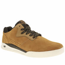 Supra Tan Quattro Mens Trainers