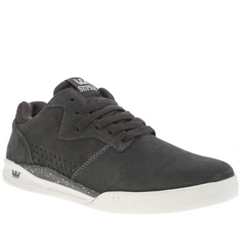 mens supra grey bandit trainers