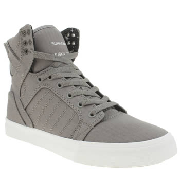 Supra Grey Skytop Trainers