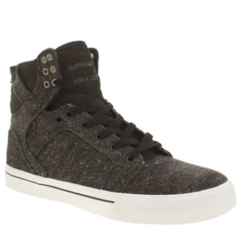 Supra Dark Grey Skytop Trainers