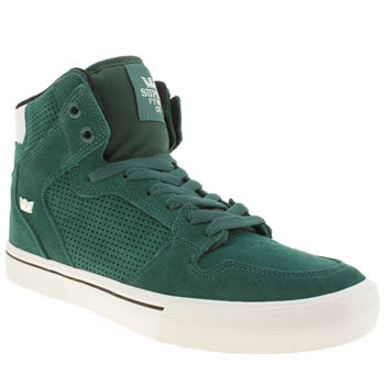 Supra Green Vaider Trainers