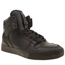Supra Black Vaider Mens Trainers