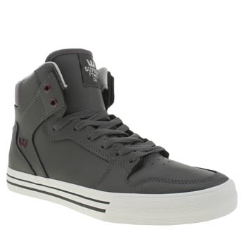 Supra Grey Vaider Trainers