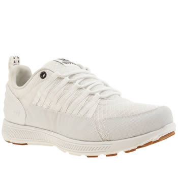 Mens Supra White Owen Trainers