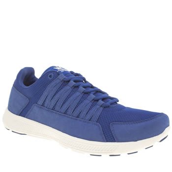 Mens Supra Blue Owen Trainers