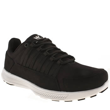 mens supra black owen trainers