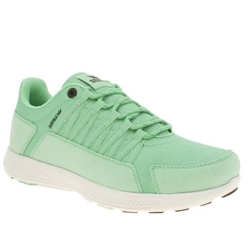 Mens Supra Light Green Owen Trainers