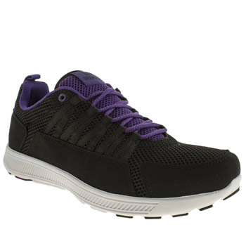 Mens Supra Black & Purple Owen Trainers
