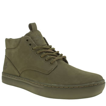 Mens Timberland Green Adventure 2-0 Cupsole Boots
