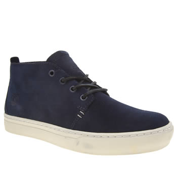 Mens Timberland Navy Adventure 2-0 Cupsole Boots