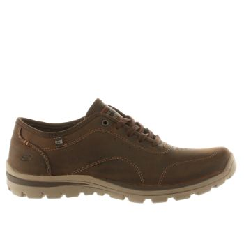 Skechers Dark Brown Superior Harvin Mens Trainers