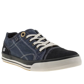 Skechers Navy Diamond Black Levon Trainers