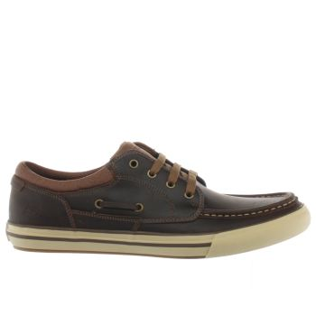 Skechers Brown Planfix Creons Trainers