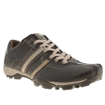 Skechers Black Urban Tread Refresh Trainers