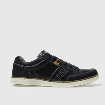 Skechers Navy Lanson Rometo Mens Trainers