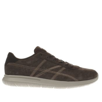 Skechers Brown On The Go City Grand Trainers