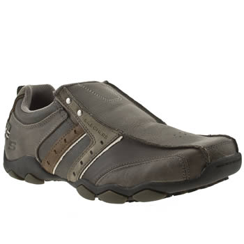 Skechers Grey Diameter Heisman Trainers