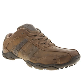 Skechers Brown Diameter Vassell Trainers