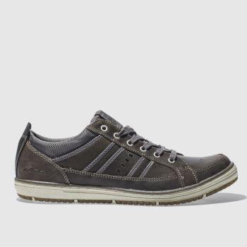 Skechers Dark Grey Irvin Hamell Mens Trainers