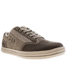 Skechers Dark Brown Define Mahan Mens Shoes