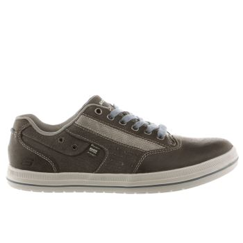 Skechers Grey Devine Mahan Mens Shoes