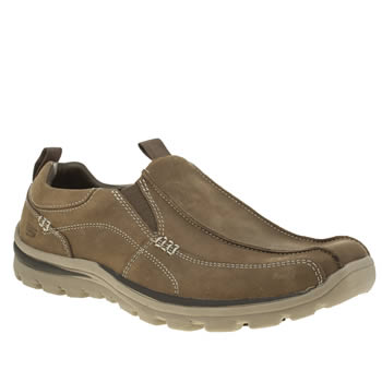 Skechers Tan Superior Haute Shoes