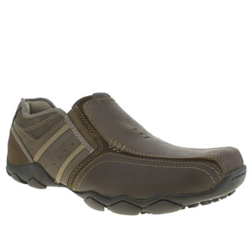Skechers Brown Diameter Zimroy Mens Shoes