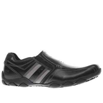 Skechers Black Diameter Zimroy Mens Shoes