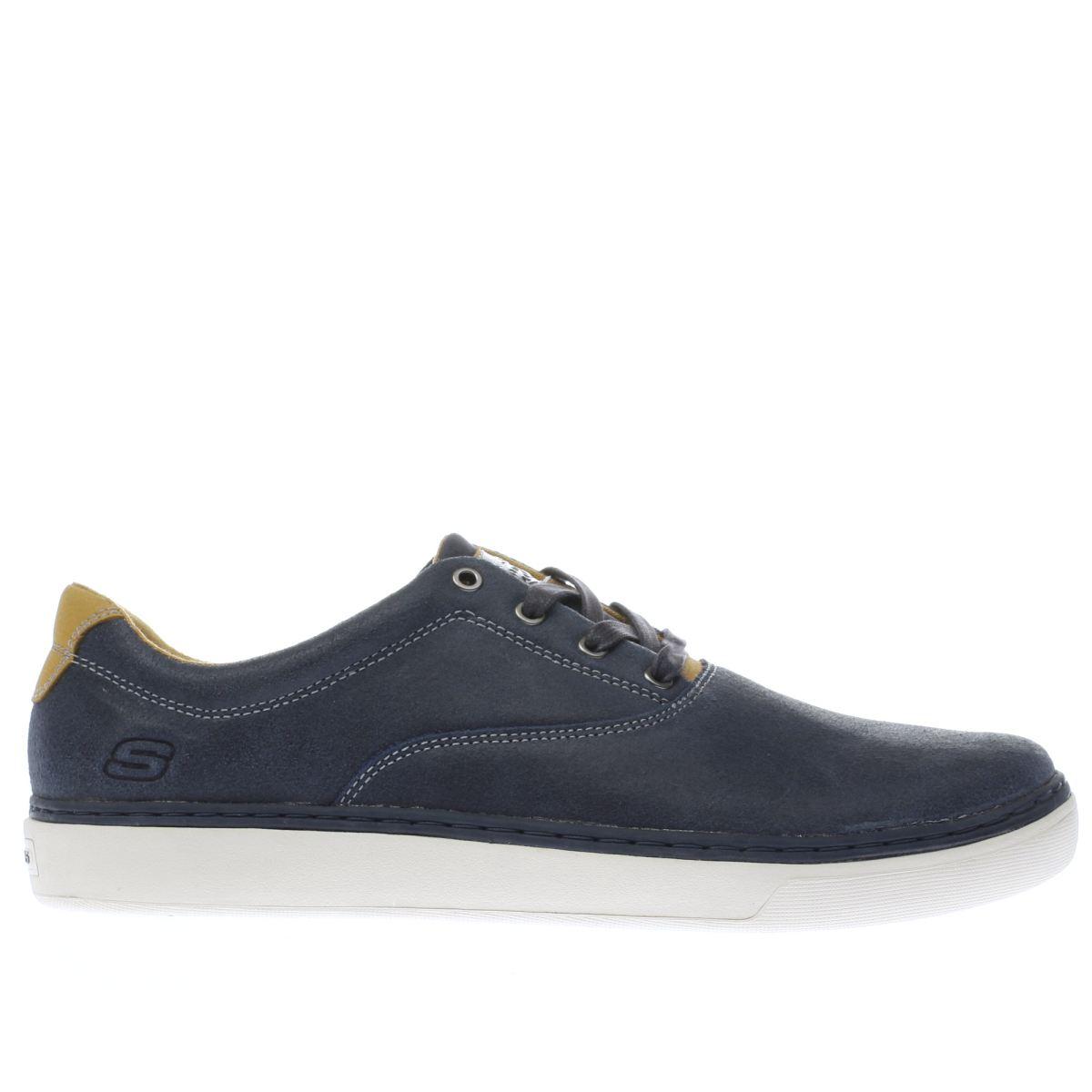 skechers navy palen alesco shoes