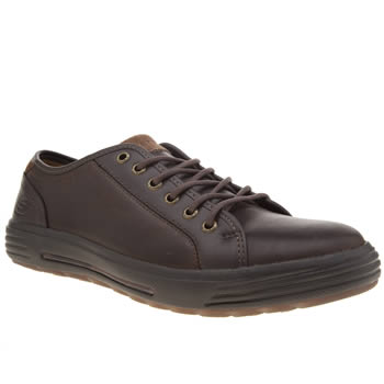 Skechers Brown Porter Ressen Shoes