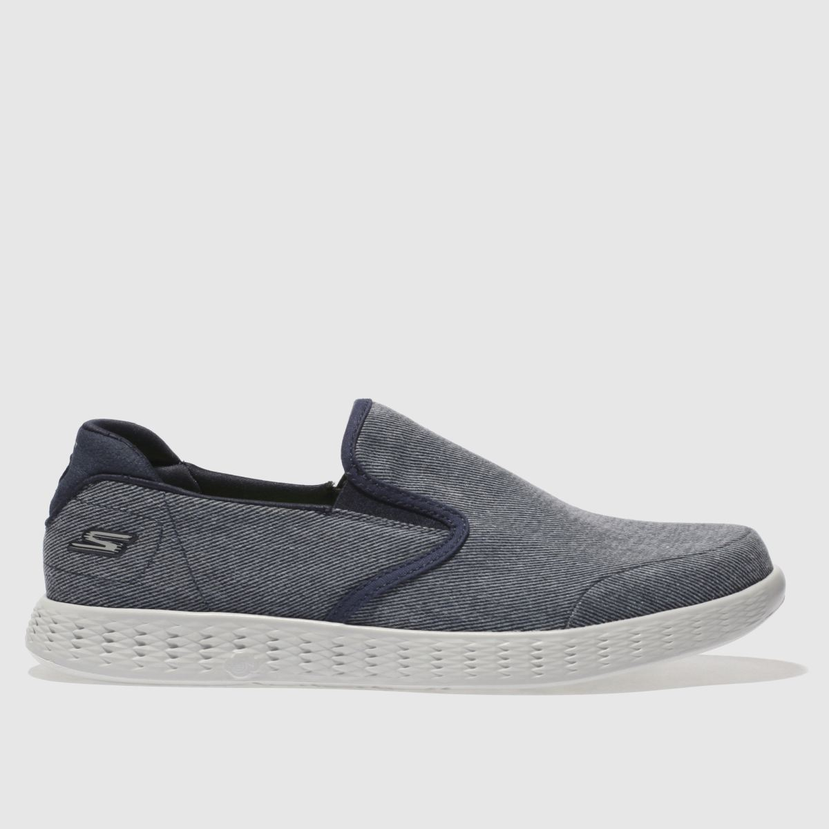 Skechers Navy On The Go Glide Trainers