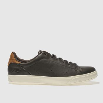Mens Skechers Dark Brown Go Vulc 2 Trainers