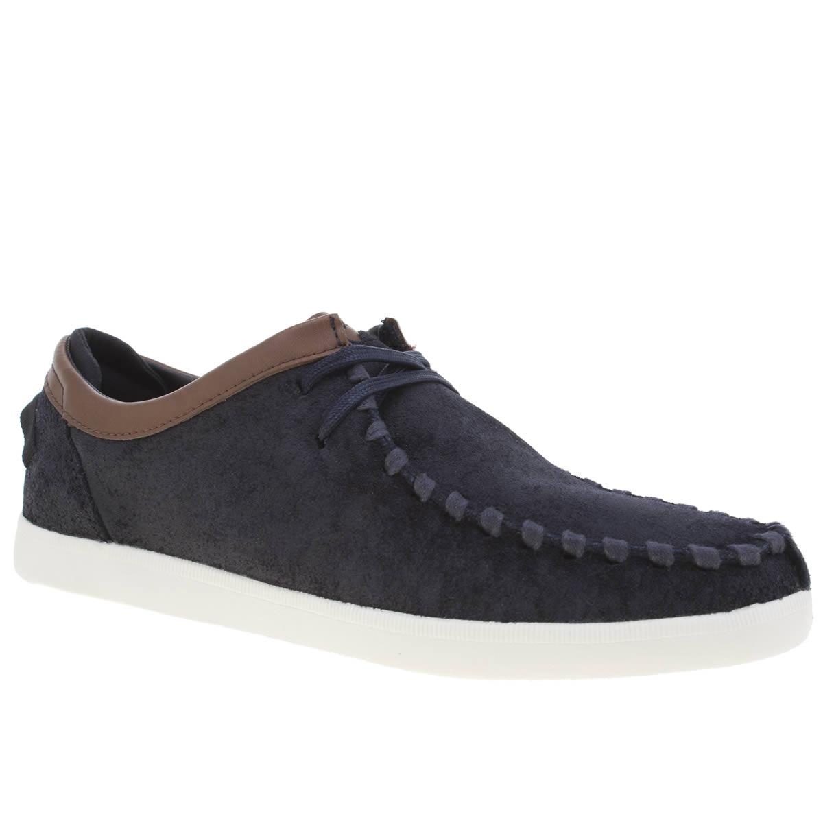 boxfresh Boxfresh Navy Politane Shoes