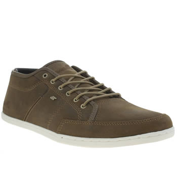 Mens Boxfresh Brown Sparko Prem Trainers