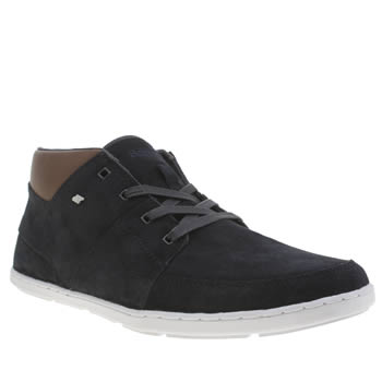 Mens Boxfresh Navy Cluff Trainers