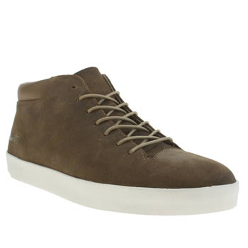 Mens Boxfresh Brown Bxfh Hi Trainers