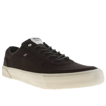 Mens Boxfresh Black & White Ackroyd Trainers