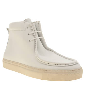 Northern Cobbler White Trainer Mens Boots